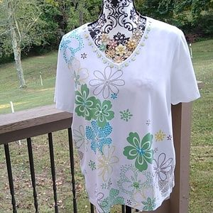 Alfred dunner size medium decorative top